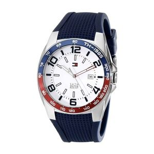 Tommy Hilfiger Sport White Dial Rubber Men's Watch